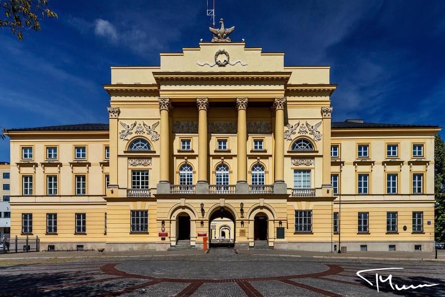 architektura, sesje fotograficzne - Pałac Mostowskich, Warszawa, Tadeusz Mirosz