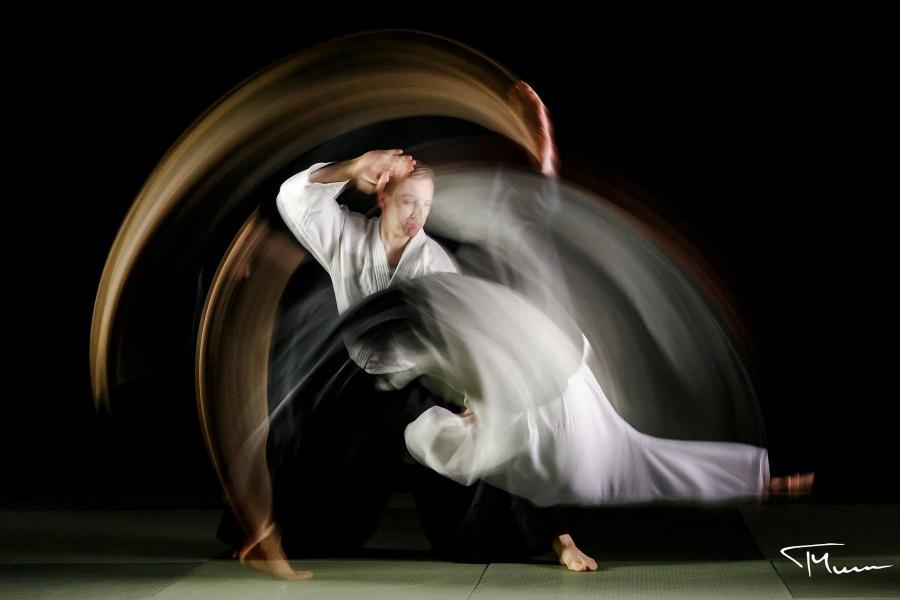 sesja fotograficzna - sport, aikido, japońska sztuka walki