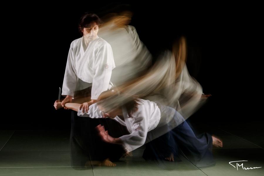 sesja fotograficzna - sport, aikido
