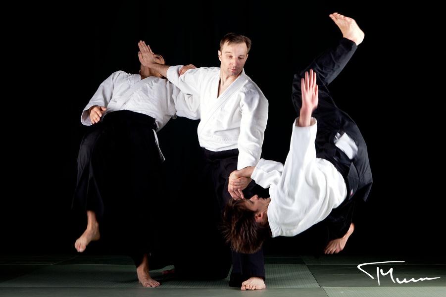 sesja fotograficzna - aikido, Tomasz Sowiński