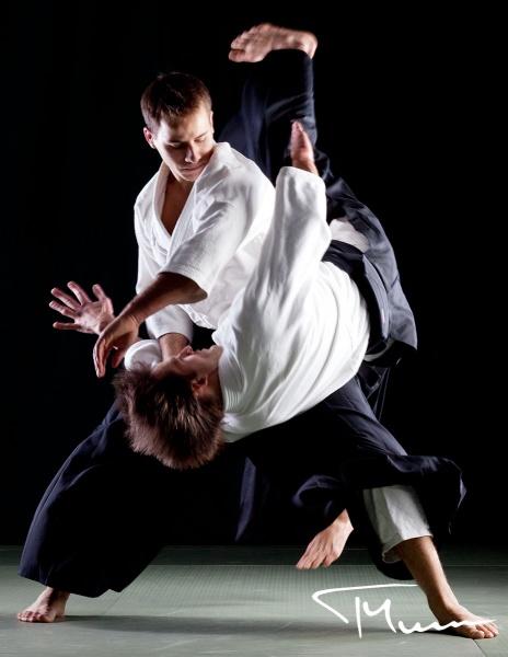 sesja fotograficzna - sport, aikido, klub SOTO Warszawa