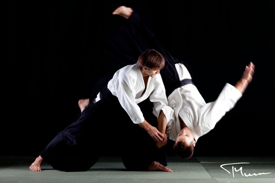 sportowa sesja fotograficzna - aikido, Warszawa
