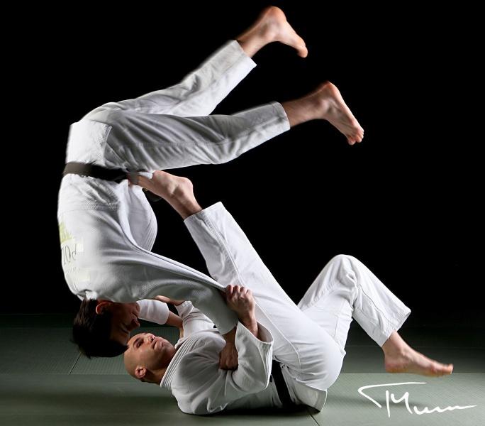sportowa sesja fotograficzna - judo