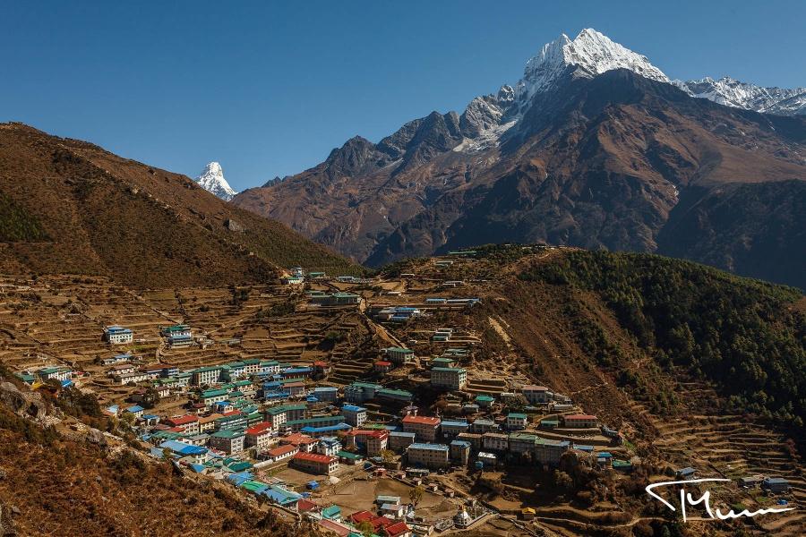 fotografia podróżnicza, Nepal, Namche Bazaar