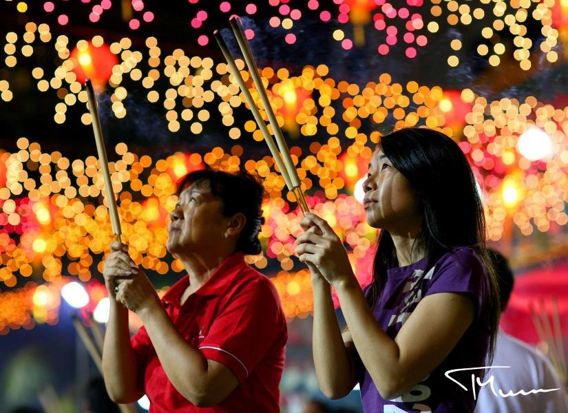 fotografia podróżnicza - Singapur, Nowy Rok