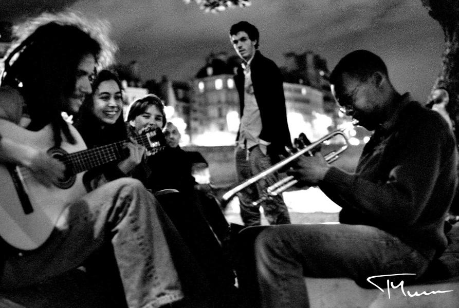 fotografia podróżnicza - ludzie, Paryż